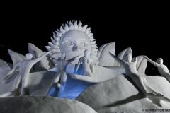雪の芸術展 十日町市長賞「燦 SUN」水沢雪まつり会
